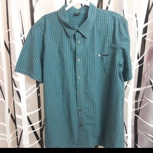 Oakley Short Sleeve Button Up Shirt